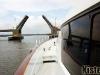 Yacht draw bridge